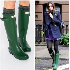 Original Tall Waterproof Rain Boot Hunter Green